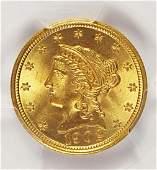 1902 $2.50 LIBERTY GOLD