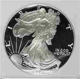 1995-W AMERICAN SILVER EAGLE