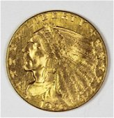 1926 $2.50 INDIAN GOLD