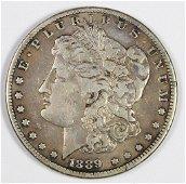 1889-CC MORGAN SILVER DOLLAR