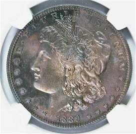 1889 MORGAN SILVER DOLLAR