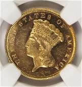 1879 $3.00 GOLD