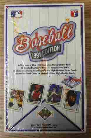 1991 UPPER DECK BASEBALL SET