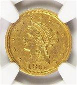 1851-D $2.50 LIBERTY GOLD