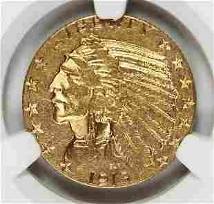 1913-S $5 GOLD INDIAN