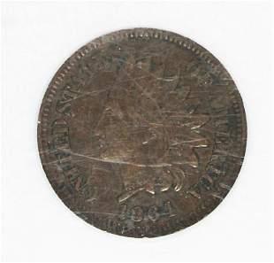 1864 BRONZE INDIAN CENT