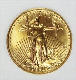 1990 $10 AMERICAN GOLD EAGLE