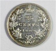 1889 CANADA QUARTER