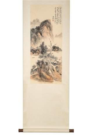 Painting By Huang Binhong
