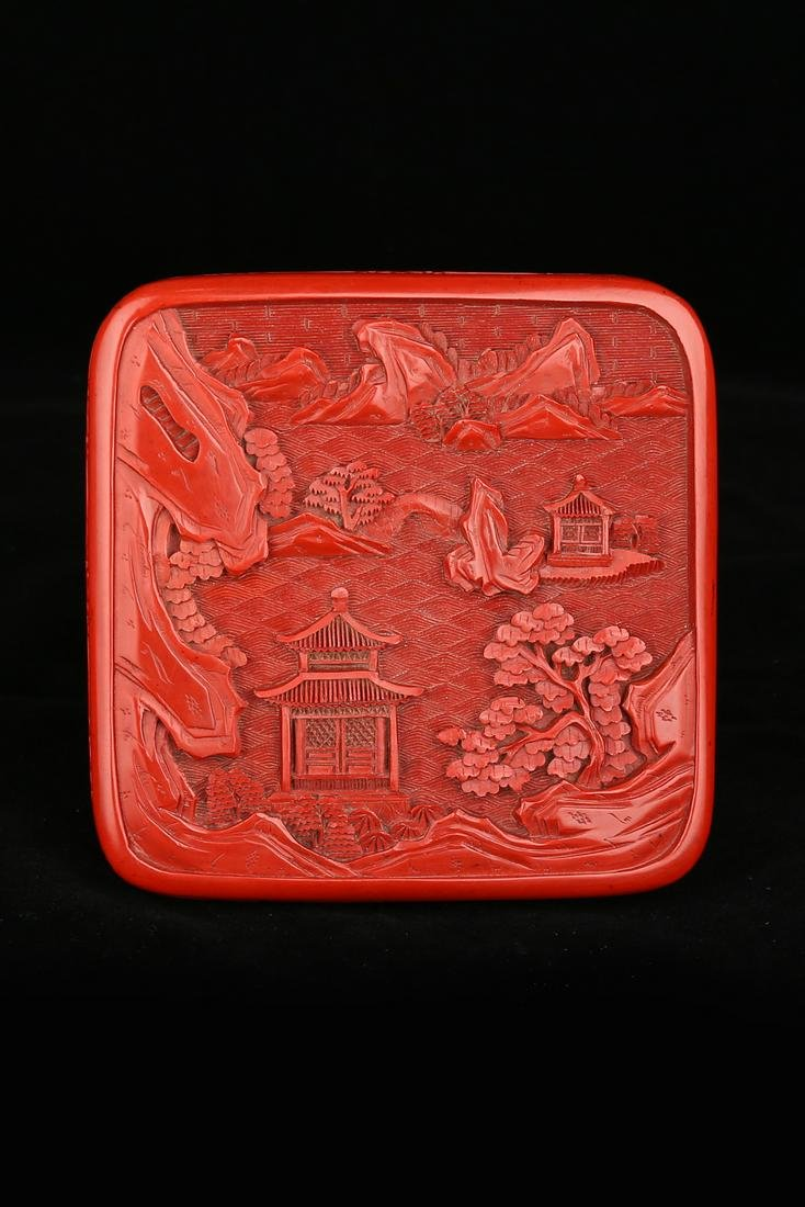 Cinnabar And Lacquer Box