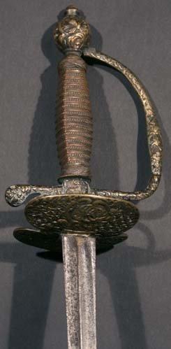 12: A French 18th Century Child's Small Sword Circa 174