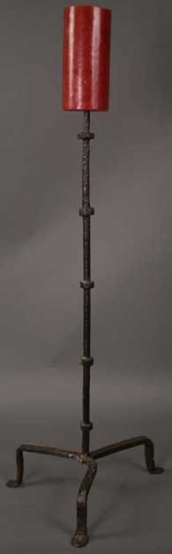 97: A 16th Century Wrought Iron Pricket Candle-stand, c