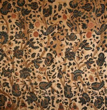 214: Four 17th Century Crewel Work Drapes (A/F) embroid