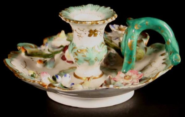 10: A Charming 19th Century Minton Porcelain Chamber St