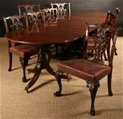 431: A Splendid Quality Regency Triple Pedestal Dining