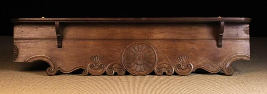 A French 19th Century Wall Hanging Shelf made from a