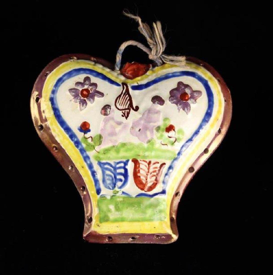 A Charming 19th Century Yorkshire Ceramic Knitting
