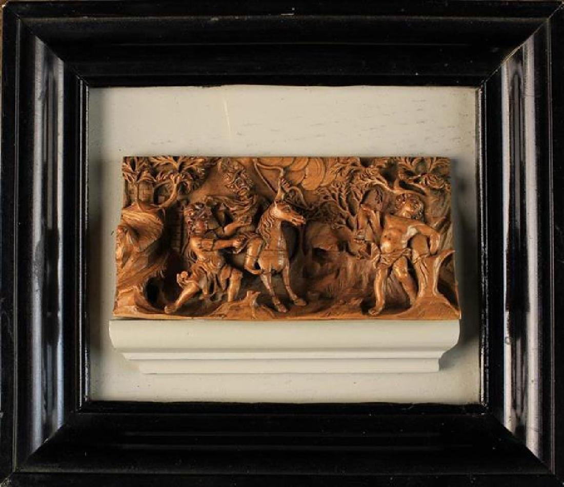 Small wonders late gothic boxwood microcarvings from the low