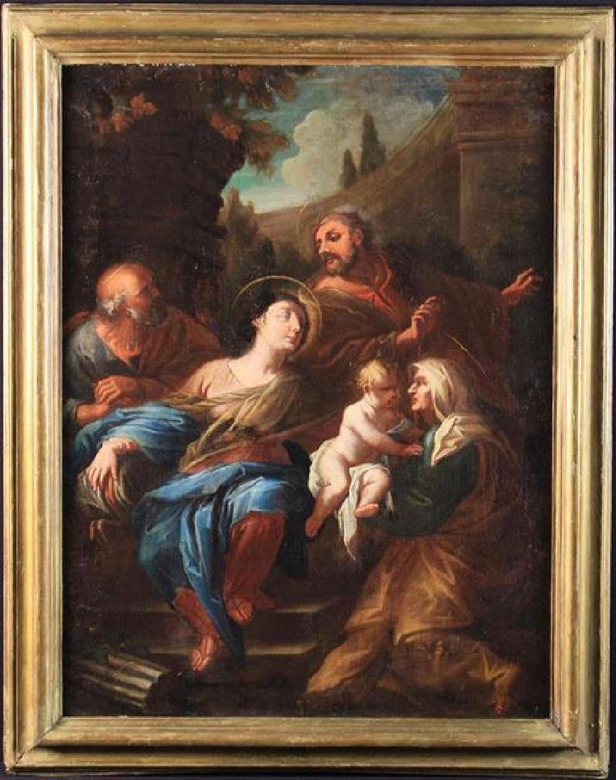 Italian School. A Late 17th Century Religious Oil on