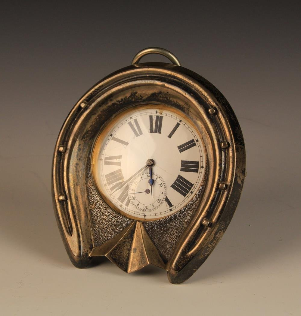 An Oversized Silver-plated Pocket Watch with Swiss