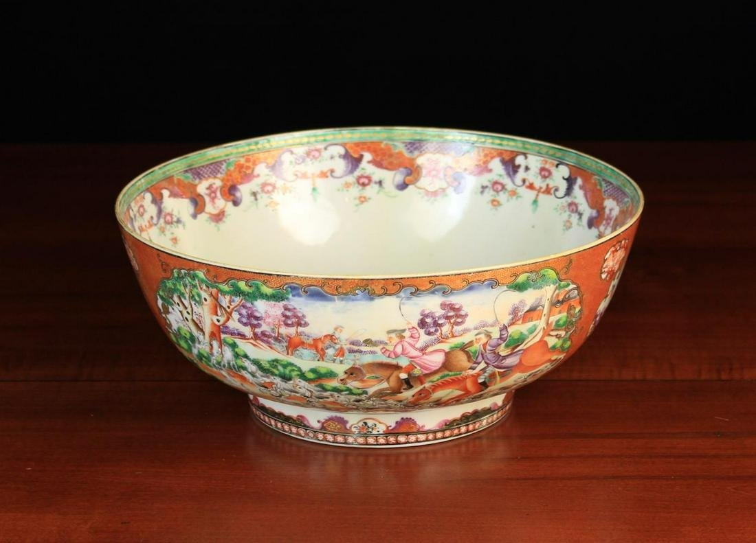 A Late 18th/Early 19th Century Chinese Export Punch