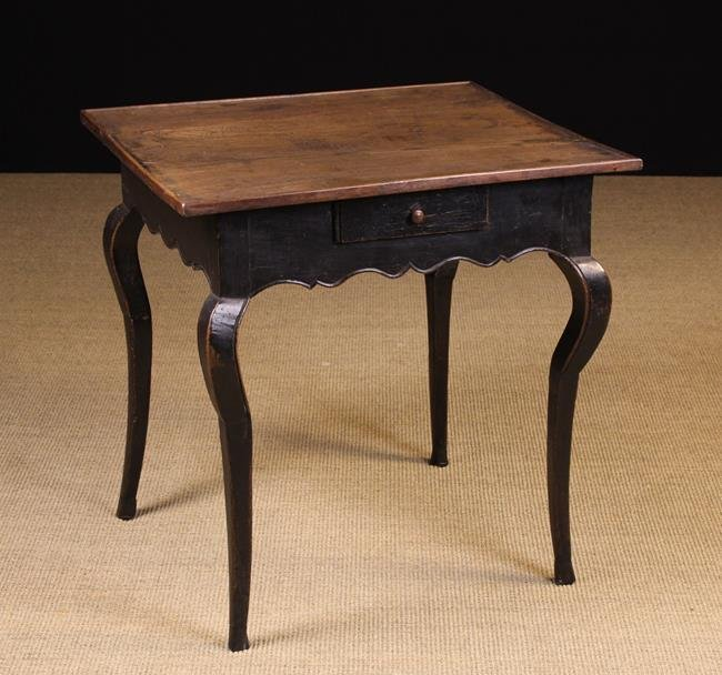 A Small 18th Century French Provincial Side Table.