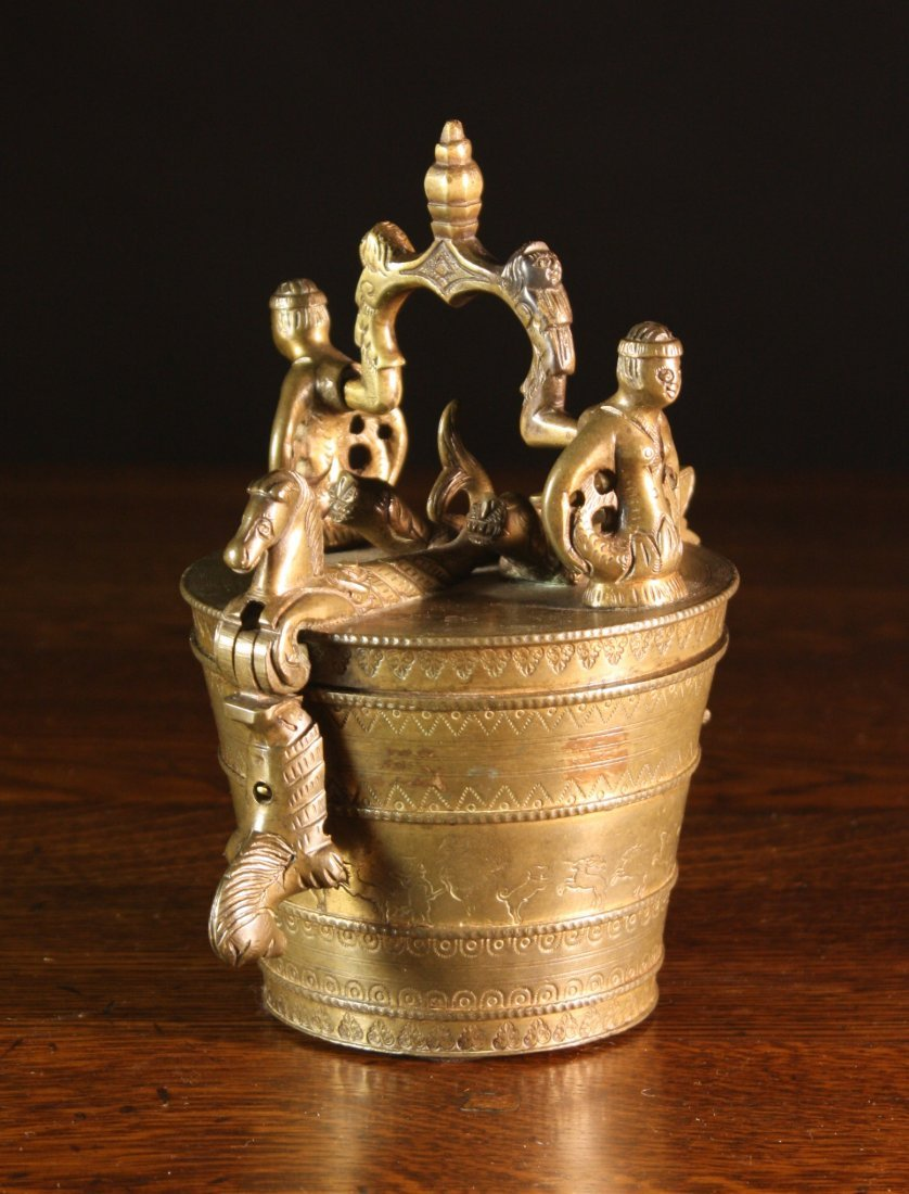 2: A Fine 17th Century Nuremberg Bronze Nest of Weights