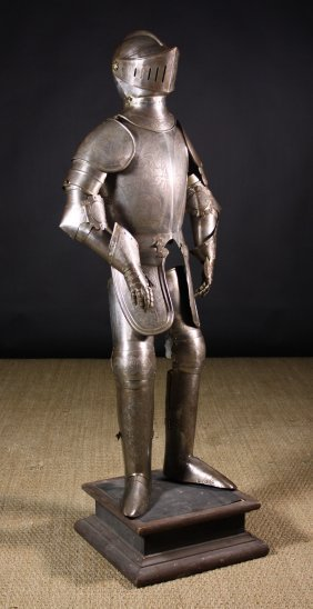 A 19th Century Child's Suit Of Armour 50 Ins X 19 I