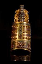A gilt-cloisonne bells