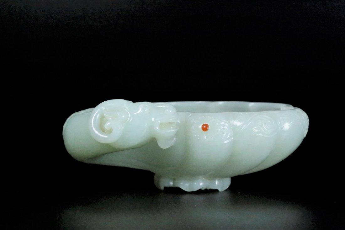 A white jade