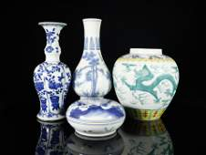A Set of Fine Chinese Porcelain