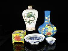 A Set of Exquisite and Delicate Chinese Porcelain