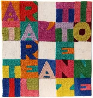 BOETTI Alighiero, Attirare l'attenzione, 1987