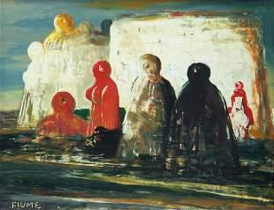 FIUME Salvatore, Isola di pietra, 1973