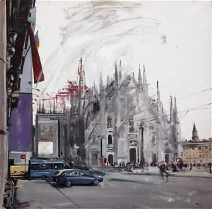 RUSSO Alessandro, Duomo viola, 2015
