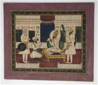 Sikh Indian Miniature Painting