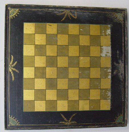 6: DECORATED GAMEBOARD. Double sided with che