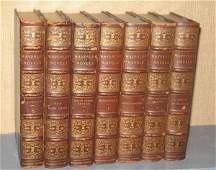 FORTY-SIX VOLUME SET OF WAVERLY NOVELS. The Edinb