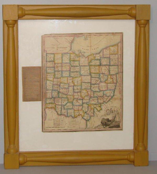 10: VERY FINE AND RARE MAP OF OHIO