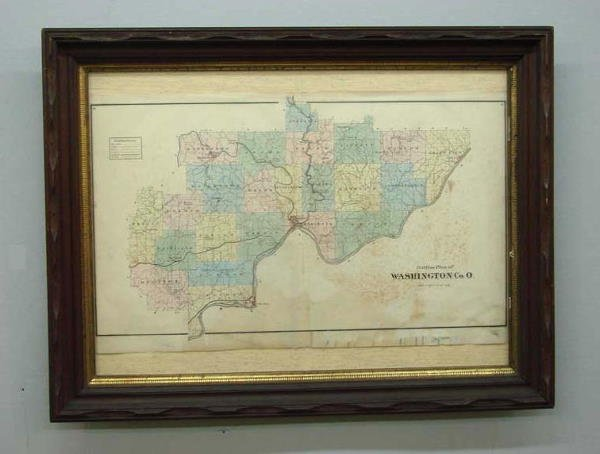 10A: MAP OF WASHINGTON COUNTY, OHIO