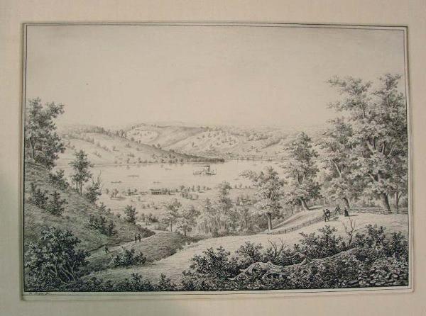 105: OHIO RIVER LANDSCAPE BY EDWARD BEYER