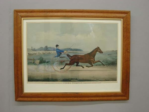 420: HANDCOLORED LITHOGRAPH BY CURRIER & IVES