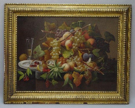 346: FINE OIL ON CANVAS PAINTING. Still life from the S