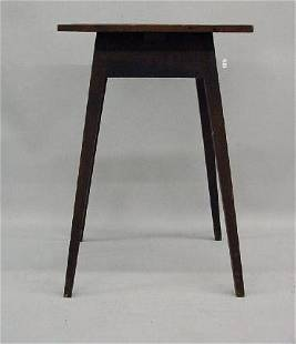 COUNTRY HEPPLEWHITE SPLAY LEG STAND. Attributed to