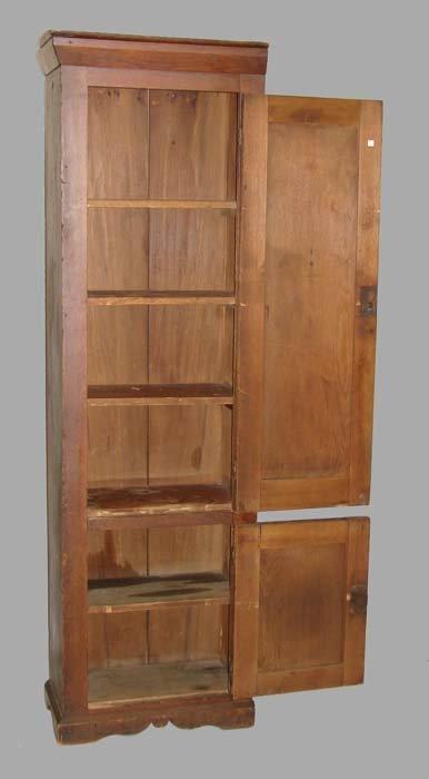 452: TWO-DOOR CHIMNEY CUPBOARD.