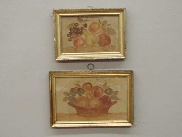 19: TWO THEOREMS. American, 20th Century. Watercolor fr