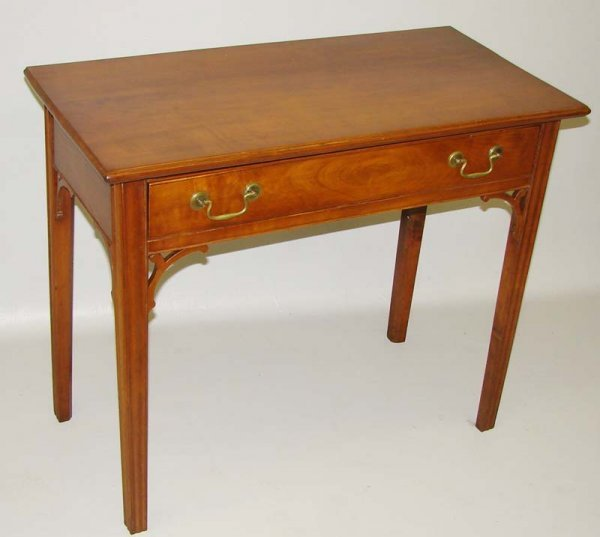 529: CHIPPENDALE DRESSING TABLE. Eastern seaboard, 1780