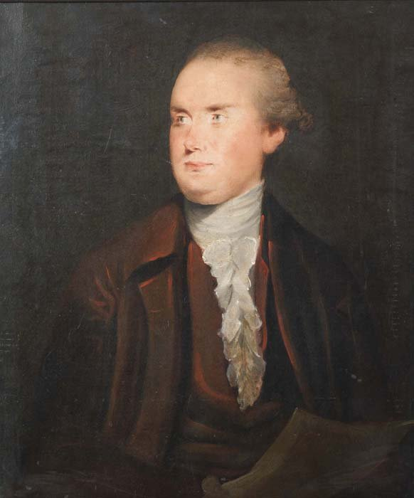 537: PORTRAIT PAINTING. Early 19th Century. Oil on canv