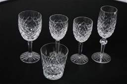 534 FIVE PIECES OF WATERFORD CRYSTAL STEMWARE One Com