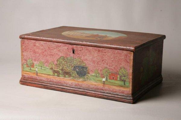 14: DECORATED BOX BY HUDNALL.